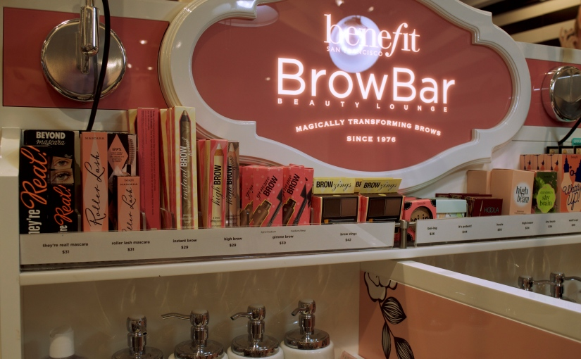 My Experience with Benefit Brow Bar