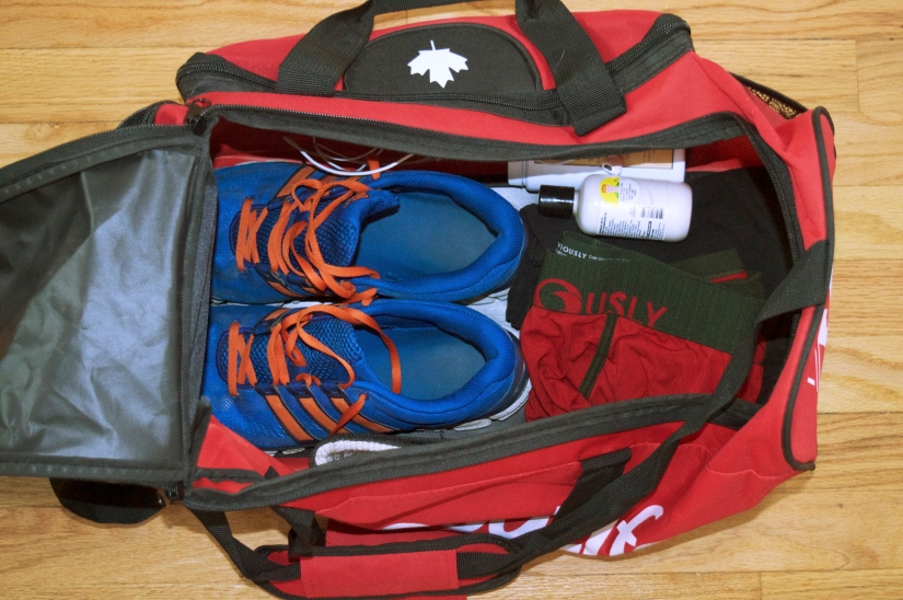 What's In His Gym Bag? Part2/2